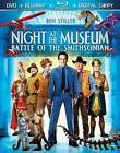Night at the Museum: Battle of the Smithsonian (Blu-ray/DVD, 2009, 3-Disc Set, Includes Digital Copy)