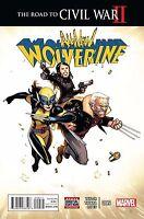 ALL NEW WOLVERINE #9 (Marvel Road to Civil War 2 2016 1st Print)