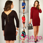 HOT DEAL ☼ Stunning Dress with Gold Zipper ☼ Unique Styl Casual Size 8-16 FK1140