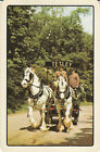 Vintage Swap/Playing Card - 1 SINGLE - TEA ADVERT WITH HORSE & WAGON