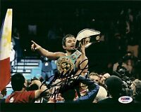 Manny Pacquiao Signed 8x10 Photo PSA/DNA COA Autographed Pacman Q40142 Auto'd