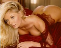 Candice Cassidy Playboy Playmate Miss June 8x10 Photo Picture Red Lace Lingerie