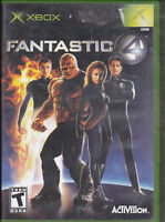 Fantastic 4  (Xbox, 2005) with case