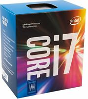 Intel Core i7-7700 Kaby Lake Quad-Core 3.6 GHz LGA 1151 65W BX80677I77700 Deskto