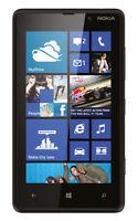 **BRAND NEW** Nokia Lumia 820 - 8GB  Mobile Phone *BLACK* *UNLOCKED* *BRAND NEW*