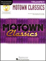 Motown Classics Trumpet Instrumental Play-Along Sheet Music Book with CD