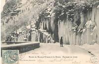 CPA Route du Bourg d'Oisans a la Grave (p92168)
