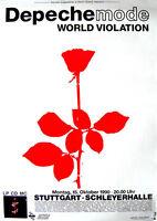 Original Konzertplakat Depeche Mode 15.10.1990 Stuttgart, Schleyerhalle