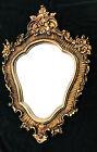 Grande specchio da parete barocco OVALE 103x73cm Specchio bagno