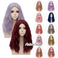 50CM Long Curly Lolita Harajuku Party Hair Cosplay Wig Heat Resistant+ Wig Cap
