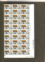 GB COTTAGES FIFE HARLING FULL SHEET 120 MNH STAMPS 1969  BRITISH ROYAL MAIL
