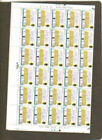 GB COTTAGES ULSTER THATCH FULL SHEET 60 MNH STAMPS 1969 BRITISH ROYAL MAIL
