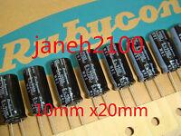 New 50 pcs Rubycon MBZ 6.3v 2200uF 105°C K-Vent Low ESR Capacitors 10x20mm AR