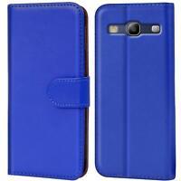 Book Case Samsung Galaxy S3 Neo Hülle Tasche Flip Cover Handy Schutz Etui Blau
