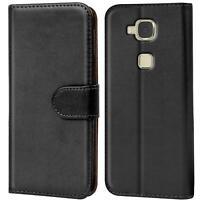 Handy Hülle für Huawei GX8 G8 Case Schutz Tasche Cover Basic Flip Etui Bookcase
