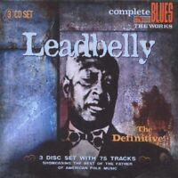 Leadbelly - The Definitive (2008)  3CD Box Set  NEW/SEALED  SPEEDYPOST