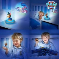 Veilleuse Pat'Patrouille 3 en 1 Go Glow avec projecteur