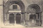 89 - cpa - AVALLON - Portail de l'Eglise St Lazare (957)