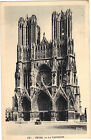 51 - cpa - REIMS - La cathédrale
