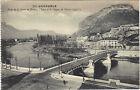 38 -cpa- GRENOBLE - Le pont de la Porte de France, l'Isère et le casque de Néron