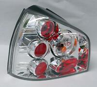 Chrome Clear Altezza Tail Lights Fits 96-03 Audi A3