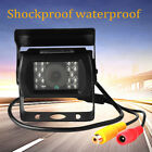 Waterproof RV Truck Bus Car IR Back Up Camera Night Vision Rear View Reserve Cam