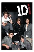 One Direction On The Stairs Large Wall Poster New