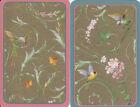 Vintage Swap/Playing Cards - 2 SINGLE- caspari birds & butterflies