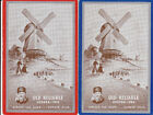 Vintage Swap/Playing Cards-2 SINGLE- TEA ADVERT WITH DUTCH WINDMILL
