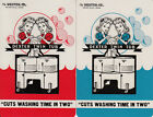 Vintage Swap/Playing Cards - 2 SINGLE - WASHER ADVERT WITH TWINS