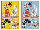 Vintage Swap/Playing Cards-2 SINGLE- MG ADVERT WITH ARABIAN THEME