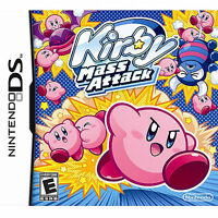 Kirby Mass Attack Nintendo DS 3DS - Brand New Factory Sealed - Free Shipping