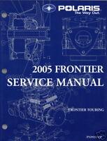 2005 POLARIS SNOWMOBILE FRONTIER SERVICE MANUAL NEW
