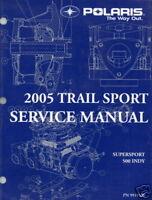 2005 POLARIS SNOWMOBILE TRAIL SPORT SERVICE MANUAL