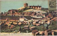 63 - cpa - PUY DE DOME - Ruines du temple de Mercure