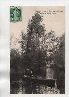 27 - cpa - VERNON - Bras de Saint Jean entre les deux ponts  (A9801)