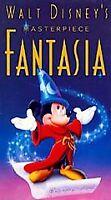 NEW Fantasia (VHS, 1940) Walt Disney Video Black Clamshell Tape SEALED RARE