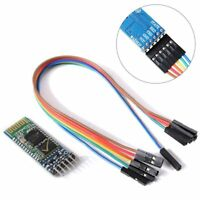 Wireless Serial 6Pin Bluetooth Transceiver Module HC-05 Master Slave+Cable N8V1