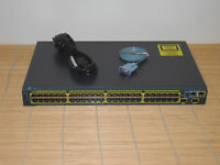 Cisco Catalyst WS-C2960S-48TD-L Switch 48x GIGABIT Ethernet Ports+ 2x 10 Gigabit