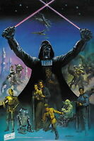 129944 Star wars The empire strikes back Decor WALL PRINT POSTER FR