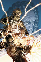 NEW S.H.I.E.L.D. by Hickman & Weaver: The Human Machine by Jonathan Hickman