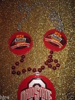 Ohio State Buckeyes 2004 Fiesta Bowl National Championship Football Necklace