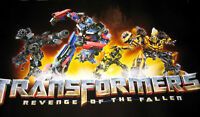 2 Transformers Revenge of Fallen Movie POSTER Botcon 2009  - you get qty 2 ROTF