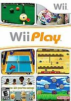 Wii PLAY 2007 with Case - Excellent!