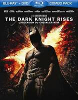 The Dark Knight Rises (Blu-ray Disc, 2012, 2 Disc Set, Canadian)M