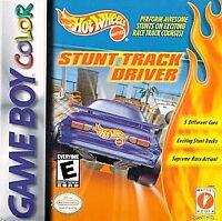 Hot Wheels: Stunt Track Driver (Nintendo Game Boy Color, 1999) CART ONLY