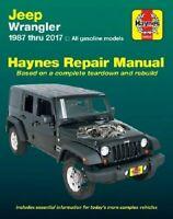 Haynes Manuals 50030 Haynes Repair Manual Fits 87-00 Jeep Wrangler