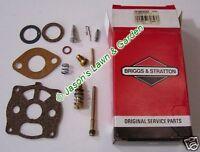 Briggs & Stratton 398992 Carburetor Carb Overhaul Kit