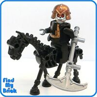 C810 Lego Castle Skeleton Knight Minifig with Sword NEW