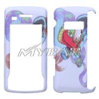 White Snake Hard Case Cover for LG enV Touch VX11000